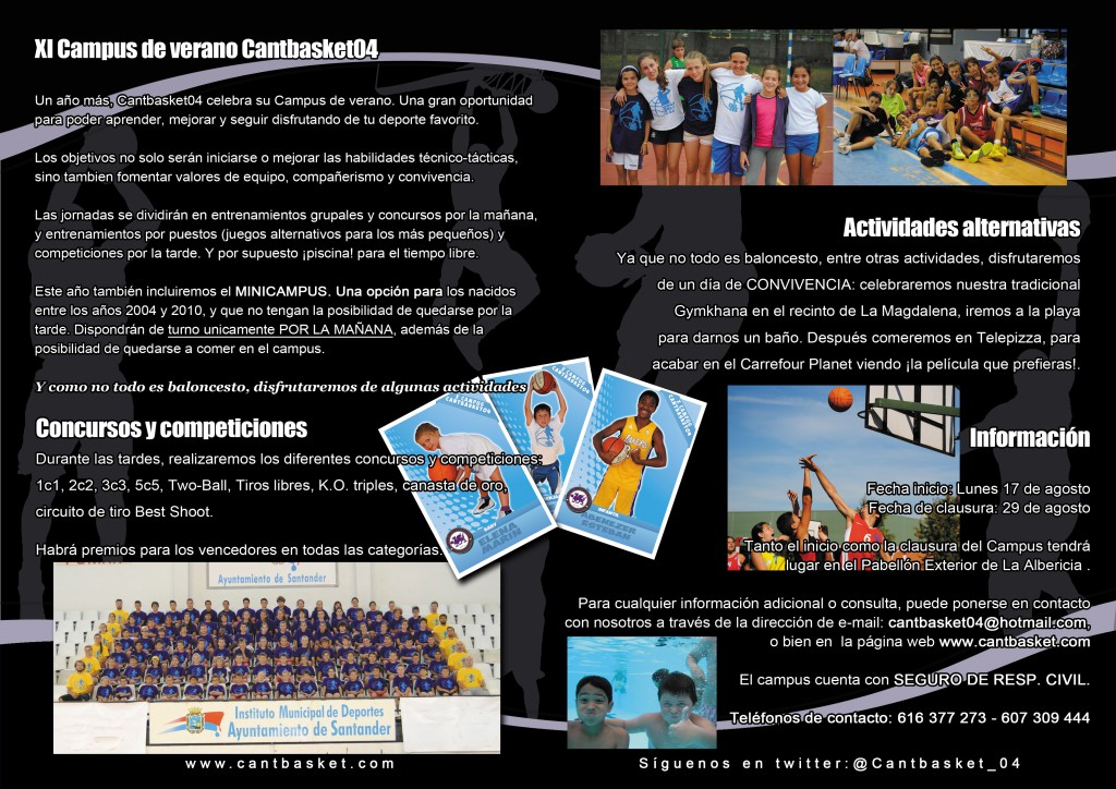 Descargar FOLLETO 'CAMPUS 2015'