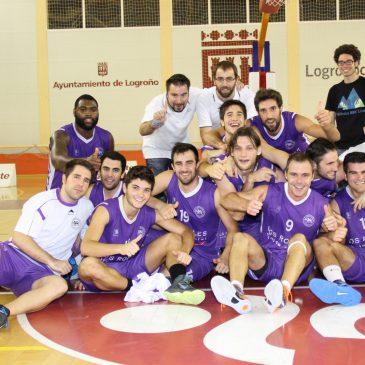 Debut soñado de la Gallofa Cantbasket en Logroño