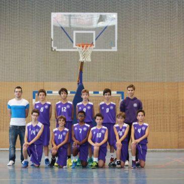 Los equipos escolares de Cantbasket ya conocen a sus rivales