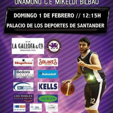 La Gallofa Cantbasket cierra la primera vuelta recibiendo al Mikeldi Bilbao