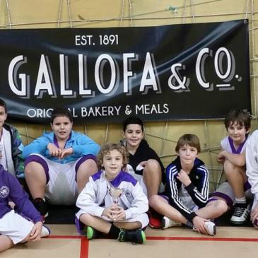 Eloy Villanueva, Pas Piélagos, Calasanz y Cantbasket, campeones del Torneo de Navidad La Gallofa