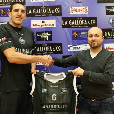 Christopher Matagrano refuerza el juego interior de La Gallofa Cantbasket
