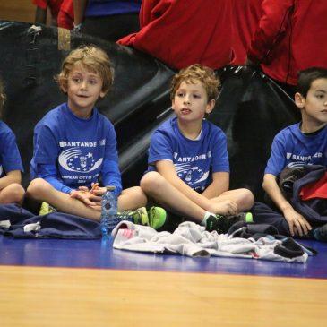 Nuestros peques jugarán este domingo en el Baby Basket del Eloy Villanueva de Santander