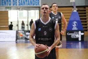 Miguel Ángel Blanco en el encuentro frente al Fundación Baloncesto Valladolid | Foto: Pablo Lanza