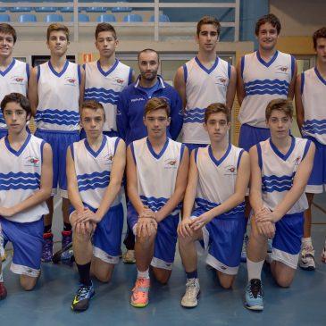 5 jugadores de Cantbasket entrenarán este domingo con la Selección Cántabra Cadete