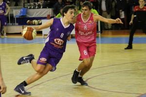 El jugador de La Gallofa Cantbasket, Jaime Azofra | Foto: Pablo Lanza
