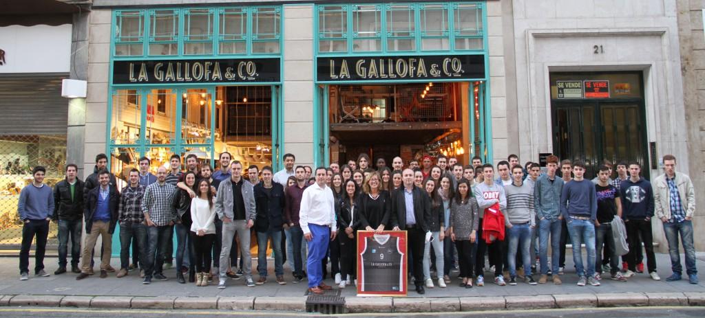 La Gallofa Cantbasket volverá a jugar en la Liga EBA, por segunda temporada consecutiva | Foto: Pablo Lanza