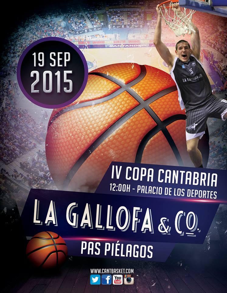 cartel la gallofa cantbasket baloncesto copa