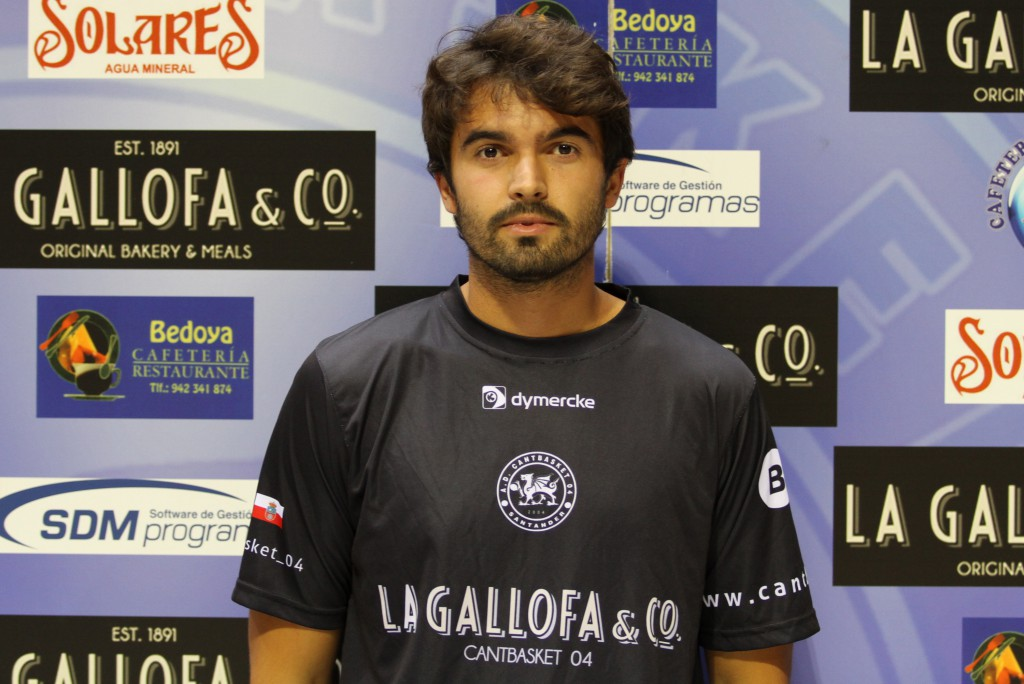Álvaro Teja ya está entrenando a las órdenes de Benjamín Santos | Foto: Pablo Lanza