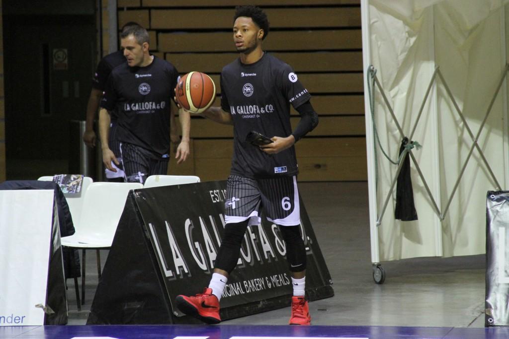 DeAngelo Hailey regresó a las canchas tras su lesión el pasado sábado | Foto: Pablo Lanza