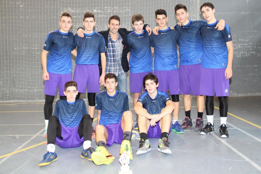 La Gallofa & Co C se proclamó Campeón de Copa en el Pabellón Manuel Llano | Foto: Pablo Lanza
