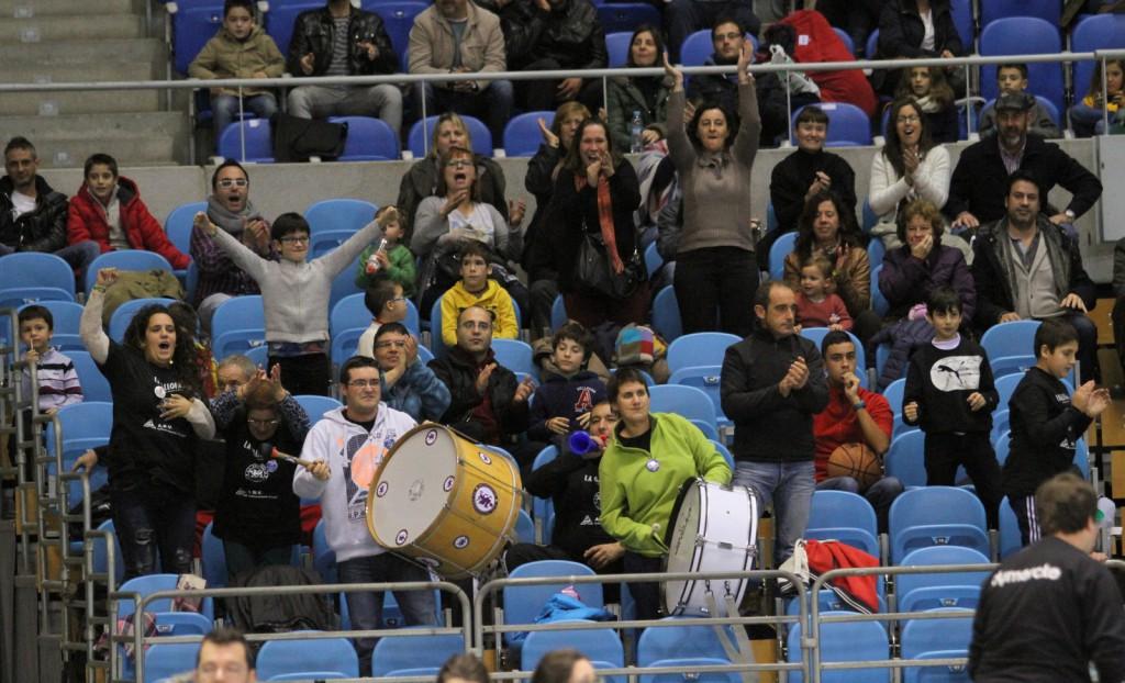 La afición fue clave en la victoria del pasado sábado frente al líder | Foto: Pablo Lanza