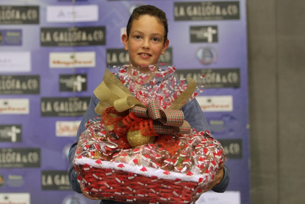Ganador de la cesta cortesía de La Gallofa & Co