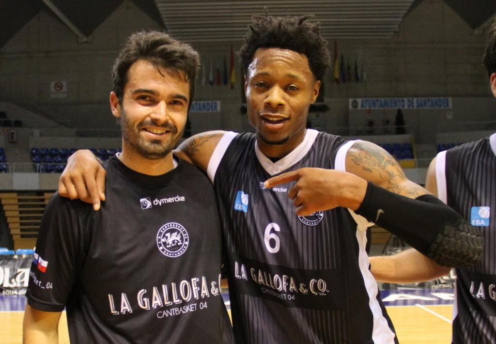 Álvaro Teja y DeAngelo Hailey, protagonizaron un parcial de 12-0 en el último cuarto | Foto: Pablo Lanza