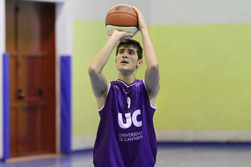 El jugador de UC Cantbasket, Fernando Madinabeitia. | Foto: Pablo Lanza
