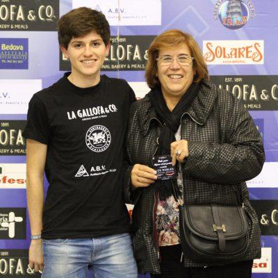 Ganadora del concurso de Clinica Dental Los Robles