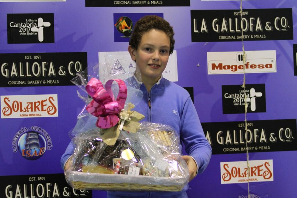 Ganador de la última cesta sorteada de La Gallofa & Co | Foto: Pablo Lanza