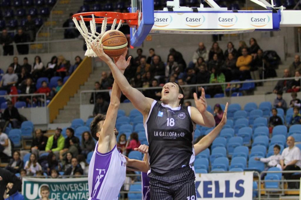 Matagrano, en el encuentro de ida ante el CB Santurtzi, fue el MVP en la última jornada | Foto: Pablo Lanza