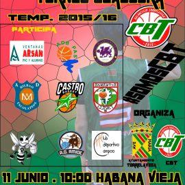 La cantera de Cantbasket participa en el Torneo Clasura del CBT Torrelavega