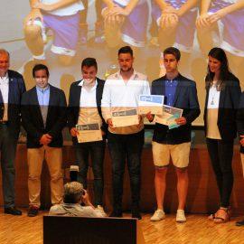 El equipo cadete de la EM Santander premiado en la IV Gala del Deporte Base