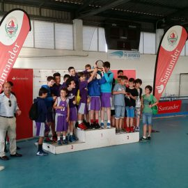 El equipo alevín de Cantbasket se proclama Campeón de la Semana Bansander