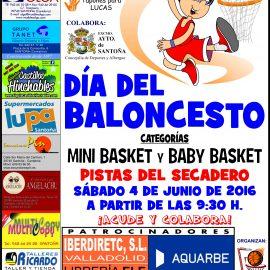 Los equipos de Cantbasket 04 estarán presentes en el 'Día del Mini'