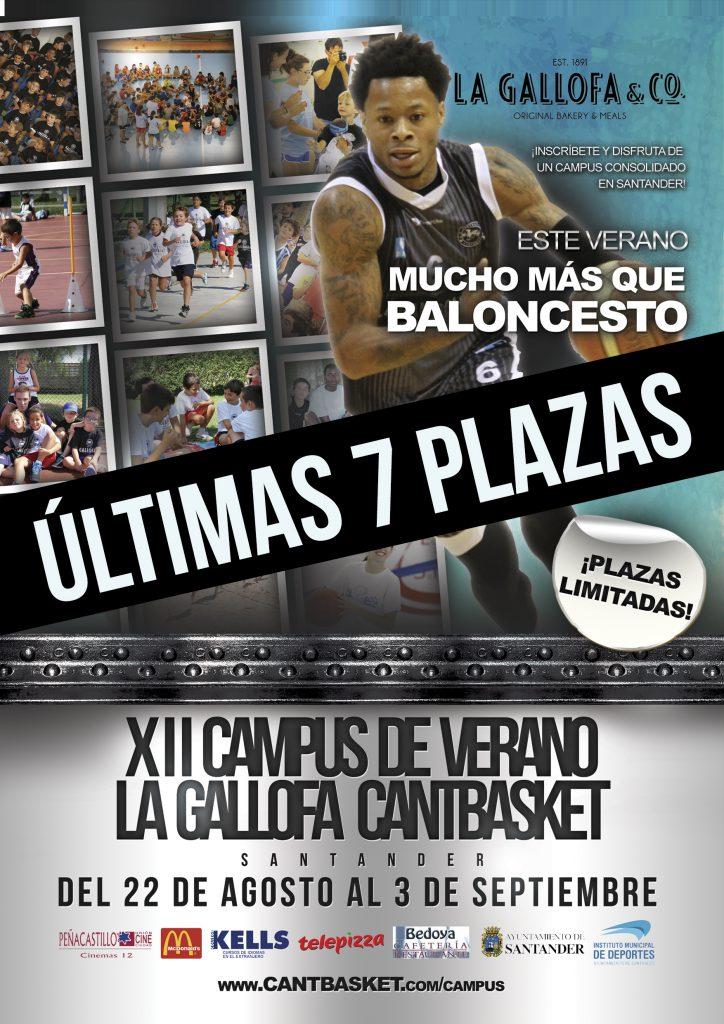 ULTIMAS 7 PLAZAS