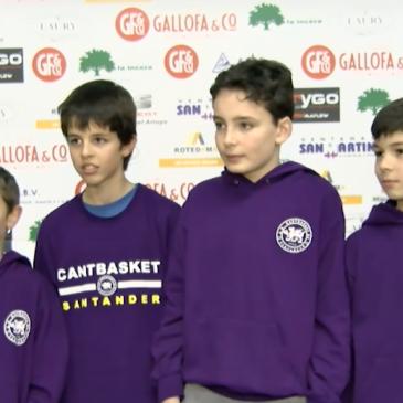 El equipo alevín Cantbasket Ángeles Custodios disputa la Final Four en Solares