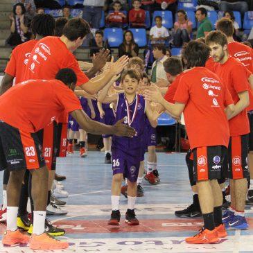 Cantbasket Ángeles Custodios homenajeado en la Fase Final de la Liga EBA