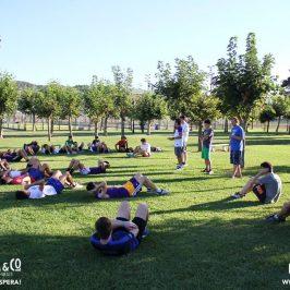 Los equipos juniors, cadetes e infantiles dieron comienzo a su pretemporada