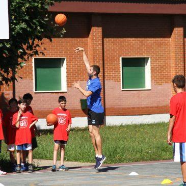 El Campus de Verano Gallofa&Co Cantbasket llega a su ecuador