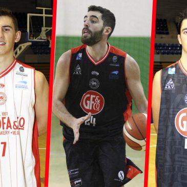 Javier Bustillo, Álvaro Díez, Bruno Bartolomé y Héctor Ocejo completan el primer equipo