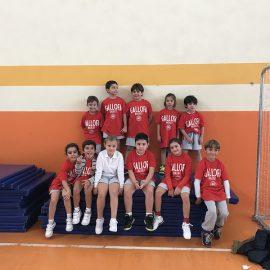 Debut de los equipos Baby-Basket en el Colegio Esclavas