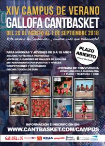 Campus de Verano Gallofa Cantbasket