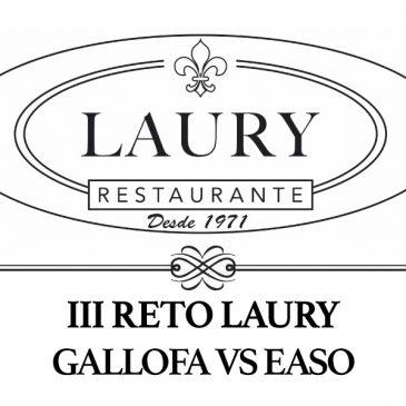 Nuevo reto del Restaurante Laury a los jugadores de Gallofa para el decisivo encuentro ante EASO