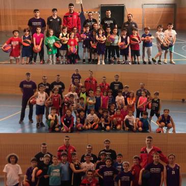Éxito de la Jornada de Captación para las categorías babybasket, benjamín y alevín 2018/19