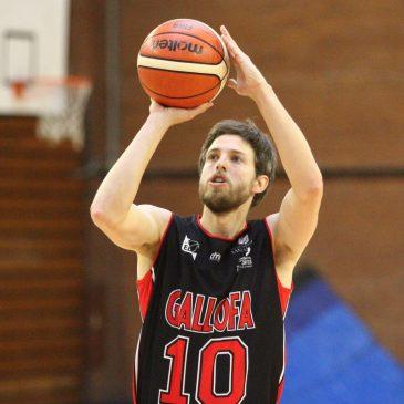 Jaime Garcia, primera renovación en la plantilla de la Gallofa Cantbasket