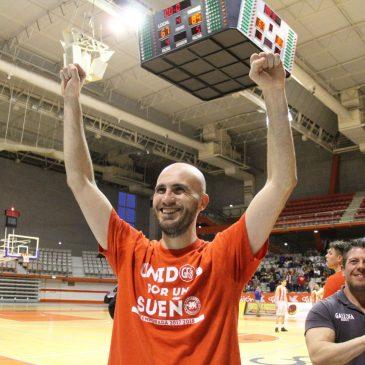 David García Peña, quinta renovación y segunda temporada con Gallofa Cantbasket