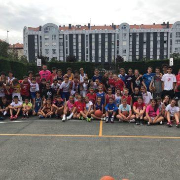 Jaime García y Sandro Gacic visitan el XIV Campus de Verano Gallofa Cantbasket