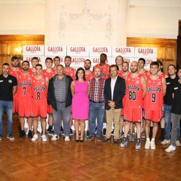 La Gallofa Cantbasket presenta a su primer equipo en La Magdalena