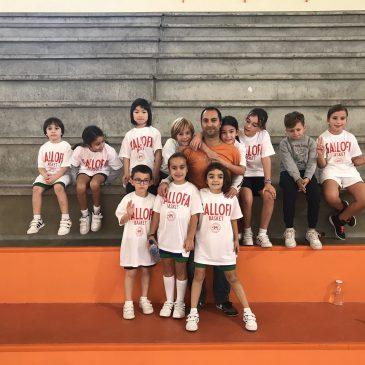 Los equipos de Baby-Basket debutan en el Colegio Esclavas de Santander