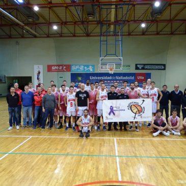 Universidad de Valladolid y Gallofa Cantbasket, juntos contra la violencia de género