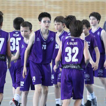 Cantbasket 04 en la Final Four infantil, alevín y benjamín