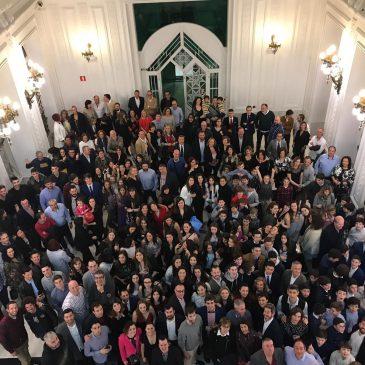 Cerca de 300 personas se dan cita en la IV Gala de Cantbasket 04 & Némesis en el Gran Casino Sardinero