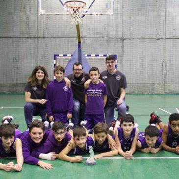 Cantbasket 04, campeón de la Copa Alevín 2019