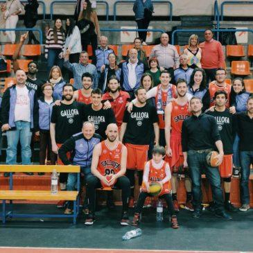 La Gallofa Cantbasket no puede acabar la temporada con victoria (77-74)