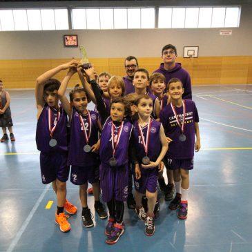 Cantbasket 04, subcampeón de la Primera División Benjamín