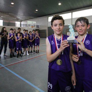 Cantbasket 04 A, campeón de la Primera División Alevín