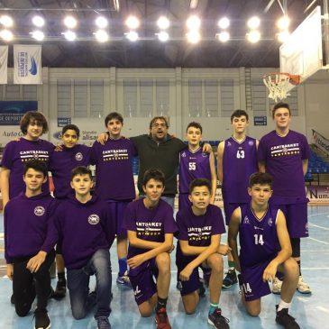 Cantbasket 04 no pudo ganar al Baloncesto Solares en la semifinal de la 1ª División Infantil