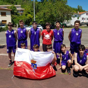 Cantbasket 04 en el Torneo U13 de Moissac (Francia)
